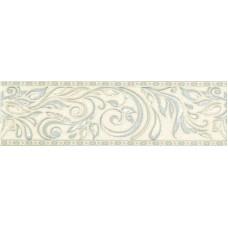 Бордюр настенный Global Tile ADELE ГОЛУБОЙ B24AW0748, размер 77 х 270 мм