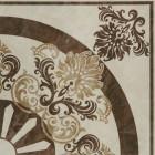 Керамогранит Unitile (Шахтинская керамика) АГАТ БЕЖЕВЫЙ ДЕКОР 02, размер плитки 400 х 400 мм