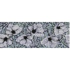 Настенная вставка Cersanit BLACK&WHITE ЧЕРНЫЙ BW2G231, размер 200 х 440 мм