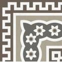 Метлахская плитка Gracia Ceramica MULTI DECOR PG01