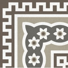 Метлахская плитка Gracia Ceramica CONTI MULTI DECOR PG01, размер плитки 200 х 200 мм