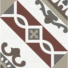 Метлахская плитка Gracia Ceramica CONTI MULTI PG01, размер плитки 200 х 200 мм