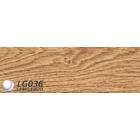 Плинтус пвх для пола LinePlast Дуб Магнатский арт L036