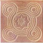 Керамогранит Unitile (Шахтинская керамика) ЭТНА БЕЖЕВЫЙ БОРДЮР 01, размер 108 х 108 мм