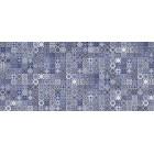 Плитка облицовочная Cersanit HAMMAM ГОЛУБОЙ HAG041 РЕЛЬЕФ, размер 200 х 440 мм