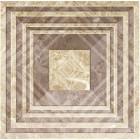 Керамическая плитка для пола ВКЗ Кватро/коричневая