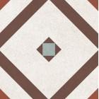 Метлахская плитка Gracia Ceramica LONGO MULTI PG01, размер плитки 200 х 200 мм