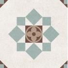 Метлахская плитка Gracia Ceramica LONGO MULTI PG03, размер плитки 200 х 200 мм