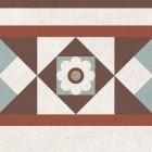 Метлахская плитка Gracia Ceramica LONGO MULTI DECOR PG02, размер плитки 200 х 200 мм