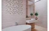 Бордюр настенный Global Tile MADERA 10200000070, размер 65 х 600 мм