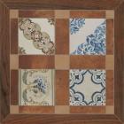 Керамогранит Unitile (Шахтинская керамика) МАЙОРКА КОРИЧНЕВЫЙ 02, размер плитки 400 х 400 мм