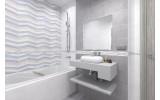 Бордюр настенный Global Tile MODA 10212001900, размер 75 х 400 мм