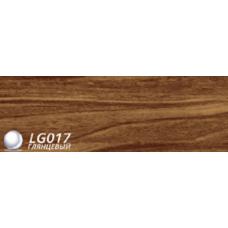 Плинтус пвх для пола LinePlast Орех Темный арт L017