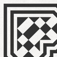 Метлахская плитка Gracia Ceramica RICCI LIGHT DECOR PG01, размер плитки 200 х 200 мм
