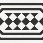 Метлахская плитка Gracia Ceramica RICCI LIGHT DECOR PG02, размер плитки 200 х 200 мм