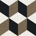 Метлахская плитка Gracia Ceramica RICCI LIGHT PG01, размер плитки 200 х 200 мм
