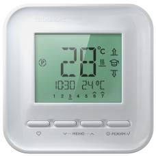 Программируемый терморегулятор для теплого пола Теплолюкс 520 белый