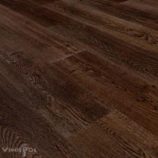 Замковая кварц-виниловая плитка Vinilpol Click 4,5 мм ДУБ ДИЖОН 2011